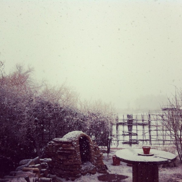 Snowy weekend