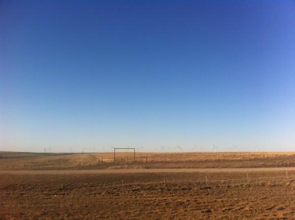 Flat flat horizon