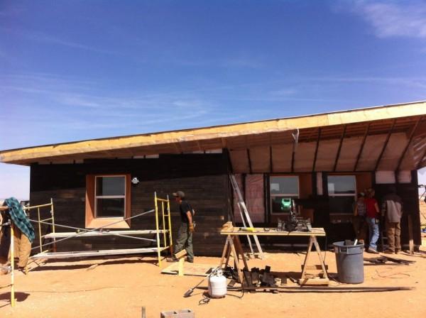 exterior finish work