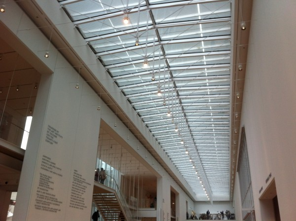 Renzo Piano's lighting