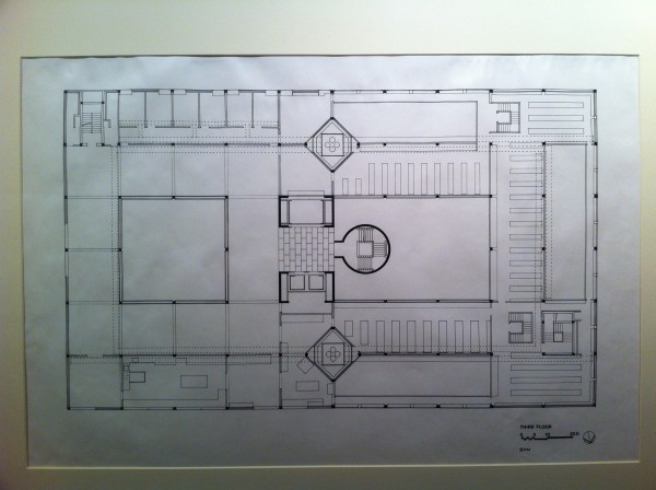 Plan of British Art Center