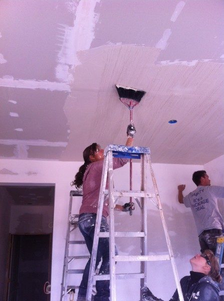 Making the texture ceiling.