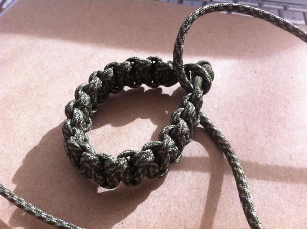 Hand-knit Rope Bracelet
