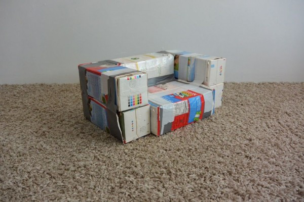 recycled milk carton crafts